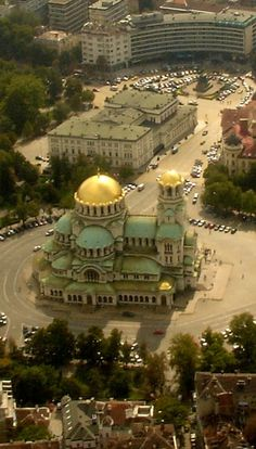 St Sava Cathedral in Sofia, Bulgária Wonderful Places, Great Places, Places To See, Beautiful Places, Sofia Bulgaria, Places Around The World, Travel Around The World, Around The Worlds, Chapelle
