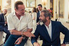 Arnold Schwarzenegger & Mel Gibson (The Expendables 3)