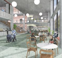 Harrow Civic Centre by Gort Scott Architects