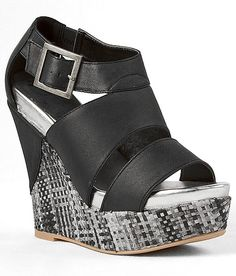 """Daytrip Connect Sandal"" #buckle #fashion #wedge  www.buckle.com"