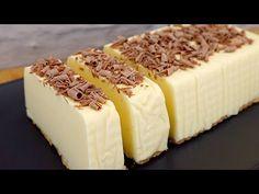 Desert cu lapte în minute # 256 - YouTube No Bake Desserts, Dessert Recipes, Torte Recipe, Macaroon Recipes, Macaroons, Flan, Sweet Recipes, Tiramisu, Cheesecake