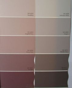 altrosa-wandfarbe-farbe-nuance-farbpalette-grau-muster old rose-color wall-color-nuance-color palette-gray pattern Old Rose Color, Gray Color, Pink Color, Murs Roses, Living Room Decor, Bedroom Decor, Gris Rose, Pink Walls, Bedroom Colors