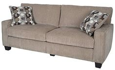 Created to suit small living spaces the Serta Palisades Collection 77' Sofa brings functional style and affordable comfort to your home decor. Its compact size and unique tool-free assembly make it ...