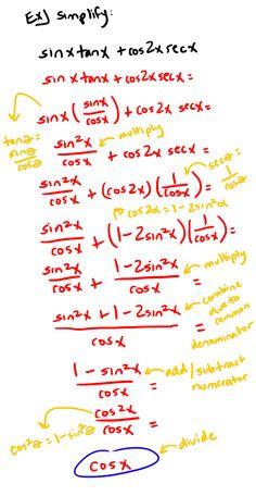 Trig Identities Precalculus, Classroom Labels, Future Classroom, Algebra, Math Lessons, Physics, Identity, Knowledge, Science