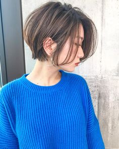 Pin on ヘアー Pin on ヘアー Asian Short Hair, Girl Short Hair, Short Hair Cuts, Haircuts For Medium Hair, Girls Short Haircuts, Shot Hair Styles, Light Hair, Cool Hair Color, Hair Journey