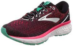 641ed7a3e037c Brooks Women s Ghost 11 Black Pink Aqua 5 B US  womenshoes   womenfashioncasual