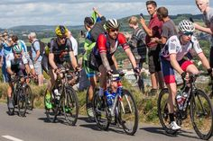 TOUR OF BRITAIN: Sir Bradley Wiggins, Mark Cavendish and company tackle Selsley - pics by Shane Healey.