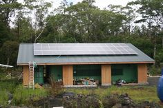 A photo shared with us from one of our customers in Hawaii. #greenliving #greenconstruction #eco