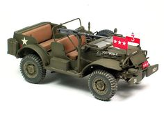 Skybow 1/35 scale General Patton's WC57 Command Car by Huang He: Image