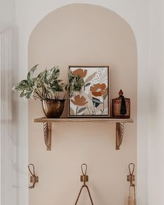 Color block arch wall Clare paint wing it colorblock Decor, Home Decor Inspiration, Interior, Home, Room Inspiration, Wall Painting, Apartment Decor, Home Deco, Block Painting