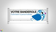 Banderole publicitaire Communication, Salons, Cinema, Bunting Template, Pos, Streamers, Wardrobe Closet, How To Make, Gifts