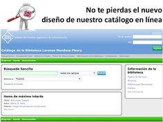 El catálogo de la biblioteca facilita el conocimiento y el acceso a sus recursos   http://www.iesa.edu.ve/biblioteca/catalogo-en-linea