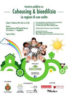 Vi aspettiamo sabato 7 febbraio a Poggibonsi con l'incontro pubblico su Cohousing e bioedilizia. https://www.facebook.com/events/600886413376490/?fref=ts