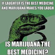 Marijuana: the best medicine...