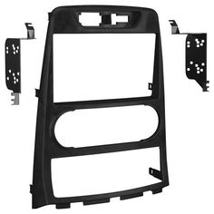 Metra - Double DIN Installation Kit for Select Hyundai Genesis Coupe Vehicles - Black