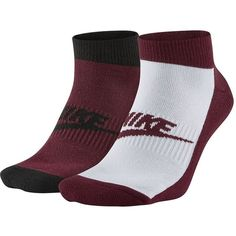 Men's Nike Futura 2-pack No-Show Socks ($14) ❤ liked on Polyvore featuring men's fashion, men's clothing, men's socks, brown over, mens socks, mens cushioned socks, nike mens socks and mens brown socks