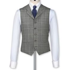 Grey herringbone tailored fit Black Label vest $115.00 An amazing 1920s style vest. Store: Charles Tyrwhitt (US)