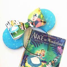 Alice Mickey Mouse Ears, Alice in Wonderland, Alice Little Golden Book Ears…