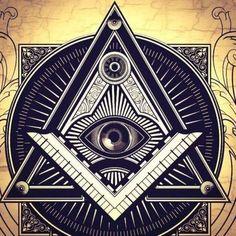 Illuminati Wallpapers HD Quotes Backgrounds with Art Collections and Inspiration. Illuminati Secrets, All Seeing Eye Tattoo, Secret Organizations, Masonic Symbols, Hd Quotes, Sacred Geometry, Tattoo Ideas, Freemasonry, Traditional Tattoos