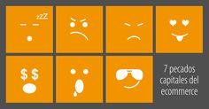 Los siete pecados del e-commerce; Pereza, Ira, Envidia, Lujuria, Avaricia, Gula y Soberbia http://blog.comunicae.es/los-7-pecados-capitales-del-e-commerce/