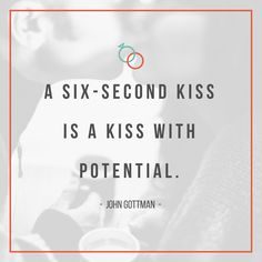 John Gottman quote on why having a six-second long kiss with your spouse is something you should try today! Strong Marriage, Marriage Relationship, Good Marriage, Happy Marriage, Marriage Advice, John Gottman, Kissing Quotes, Love You Husband, Psychology Quotes