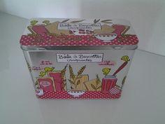 Boîte à biscottes craquantes