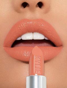 Kylie Lipstick, Lipstick Dupes, Best Lipsticks, Lipstick Shades, Lipstick Colors, Orange Lipstick, Bright Lipstick, Bold Lips, Nude Lipstick