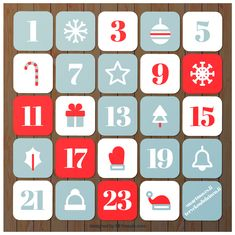 TOUCH this image to discover its story. Image tagging powered by ThingLink Christmas Calendar, Christmas Images, Countdown Calendar, Advent Calendar, Christmas Printables, Vector Free, How To Draw Hands, Holiday Decor, Simple