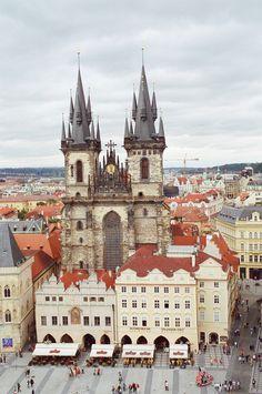 Prague, Czech Republic. I've always heard it's beautiful. I've gotta go someday.