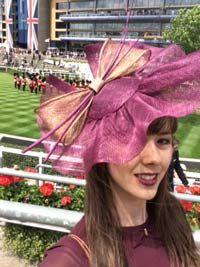 Clarissa Fascinator Hat From Ascot 2014 | Talking Fascinators | A Blog From Hatsnstuff UK