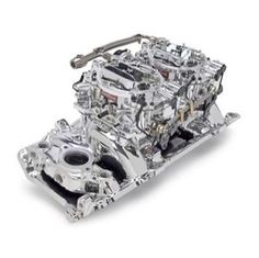 Edelbrock 20654 Bbc Dual Quad Manifold Carburetor Kit   Add some bling under the hood of your hot rod with the Edelbrock Manifold and dual quad carb kit!  Find.com Shopping  From $1,268.32