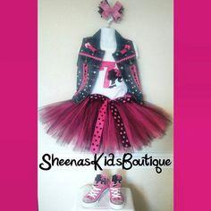 Vintage Barbie tutu set/Matching by SheenasKidsBoutique on Etsy