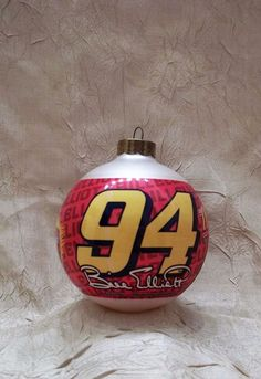 NASCAR Bill Elliott #94 Christmas Ornament Holiday