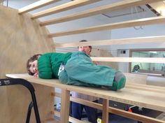 There's a bunk bed inside just for you! #bunkbeds #familycamping #teardroptrailers