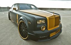 Rolls-Royce Phantom Golden Touch