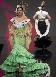Moda flamenca en la Feria de Abril