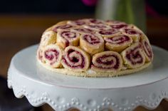 Biscuit Roulade (Bis-quiy Roo-Laad) is a swiss army knife of cake.  This recipe comes from the ultimate cake baker's reference, Rose Levy Beranbaum's Cake Bible, which Angie gifted to me and I use so often its pages are a mess of bent edges, index cards and butter smudges.  If you don't have it and you really want to know how to bake, there's no resource more thorough and useful...I wanted to make a raspberry and bavarian cream charlotte and put it out there as an option.