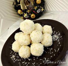 Desi mai e inca mai bine de o luna pana la marea sarbatoare a Craciunului Romanian Desserts, Coco, Sweet Treats, Cheesecake, Deserts, Sweets, Tips, Mascarpone, Raffaello