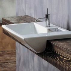 Image result for semi recessed basin