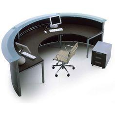Reception Desk - Reception Desking-Desking modular