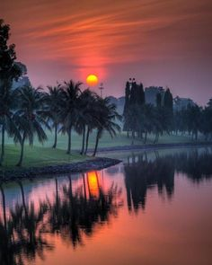 Singapore Sunset - Explore the World with Travel Nerd Nici, one Country at a Time. http://travelnerdnici.com