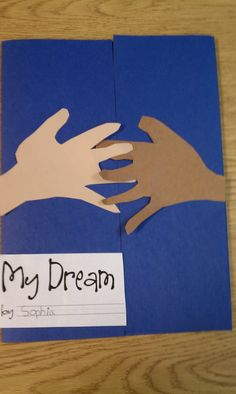 MLK - Writing about their dream is inside the folder.  Read their paper in front of the class like a speech.