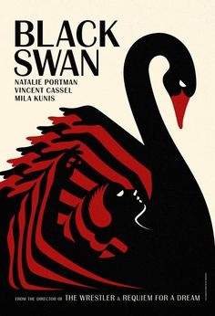 There were some great posters for Black Swan - this was Czech / Polish-inspired beaut was definitely a fave http://bit.ly/geAwpq