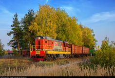 RailPictures.Net Photo: Russian Railways ChME3 at Navashino, Nizhny Novgorod region, Russia by Ilya Semyonoff