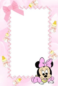 Nicole Vi invita a festeggiare Il suo battesimo Clipart Baby, Disney Babys, Baby Disney, Tarjetas Baby Shower Niña, Miki Mouse, Kindergarten Coloring Pages, Minnie Mouse Baby Shower, Baby Posters, Baby Frame