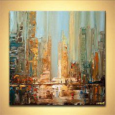 Cityscape painting - Daylight