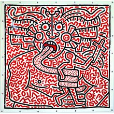 HiP Paris Blog, www.mam.paris.fr, Keith Haring, © Keith Haring Foundation, April Events