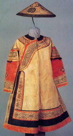 festive robe of an Oroch woman, China  (I also like this)