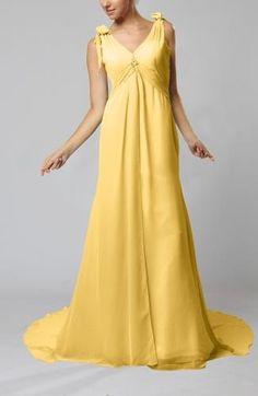 Chiffon Strapless Elegant Bridal Gowns - Order Link: http://www.theweddingdresses.com/chiffon-strapless-elegant-bridal-gowns-twdn5804.html - Embellishments: Beaded , Ruching; Length: Court Train; Fabric: Chiffon; Waist: Empire - Price: 111.99USD