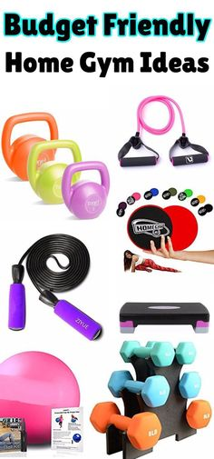 Budget Friendly Home Gym Essentials – How To Create A Home Gym On A Budget Cheap Home Gym! Learn how to build a budget friendly home gym. DIY home gym that is cheap and inexpensive - great for garage, small spaces and more. Create a home gym garage to get Cheap Home Gym, Diy Home Gym, Home Gym Decor, Diy Home Decor For Apartments, Best Home Gym, Cheap Home Decor, Home Gym Garage, Basement Gym, Diy Garage
